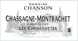 """Domaine Chanson Chassagne Montrachet 1er Cru """"Les Chenevottes"""" 2019 - 750ml"""