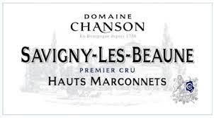"Domaine Chanson Savigny Les Beane 1er Cru ""Hauts Marconnets"" 2019 - 750ml"
