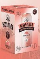Kawama Tequila Soda and Grapefruit Cocktail Case Cans 6/4pk - 12oz