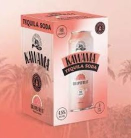 Kawama Tequila Soda and Grapefruit Cocktail Cans 4pk - 12oz