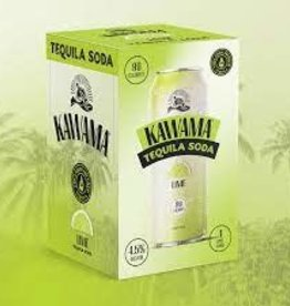 Kawama Tequila Soda and Lime Cocktail Case Cans 6/4pk - 12oz