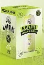 Kawama Tequila Soda and Lime Cocktail Cans 4pk - 12oz