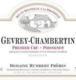 """Domaine Humbert Gevrey Chambertin 1er Cru """"Poissenot"""" 2016 - 750ml"""