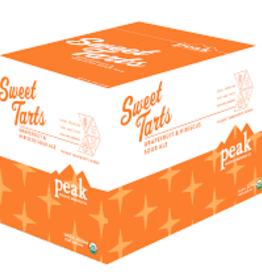 Peak Organic Sweet Tart Grapefruit Hibiscus Sour Ale Case Cans 4/6pk - 12oz