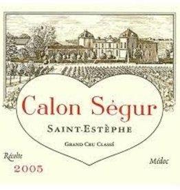 Chateau Calon-Segur St. Estephe  2005 - 750ml