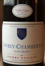 "Pierre Naigeon Gevrey Chambertin ""Les Crais"" 2015 - 750ml"