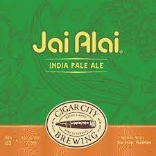 "Cigar City Brewing ""Jai Alai"" IPA Case Cans 2/12pk - 12oz"