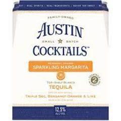 Austin Craft Cocktails Orange Margarita Cans 4pk - 355ml