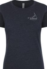Epernay Tee Shirt Ladies - Midnight Navy