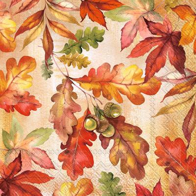 IHR Cocktail Napkins  Bright Autumn