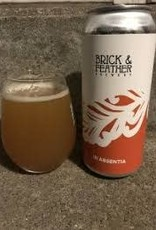 """Brick & Feather """"In Absentia"""" IPA Cans 4pk - 16oz"""