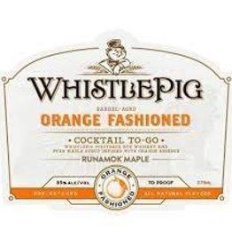 "WhistlePig ""Orange Fashioned"" Barrel Aged Cocktail 375ml"