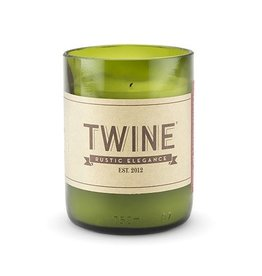 Twine Wine Bottle Candle - Unscented