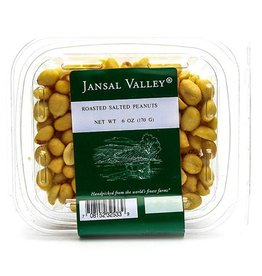 Jansal Valley Roasted Salted Peanuts 6 oz