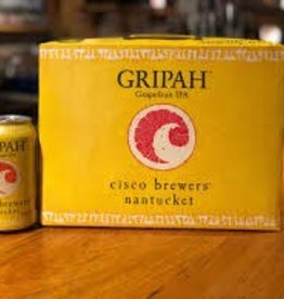 Cisco Brewers Gripah Grapefruit IPA Cans 12pk - 12oz