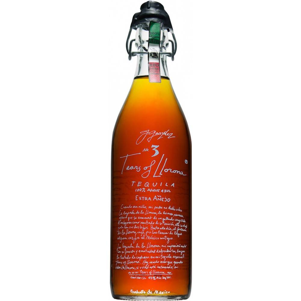 Tears of Llorna Tequila Extra Anejo 1.0L