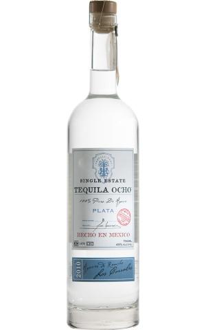 Tequila Ocho Plata 750ml