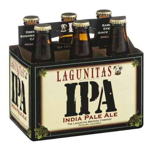 Lagunitas IPA Case Bottles 4/6pk - 12oz