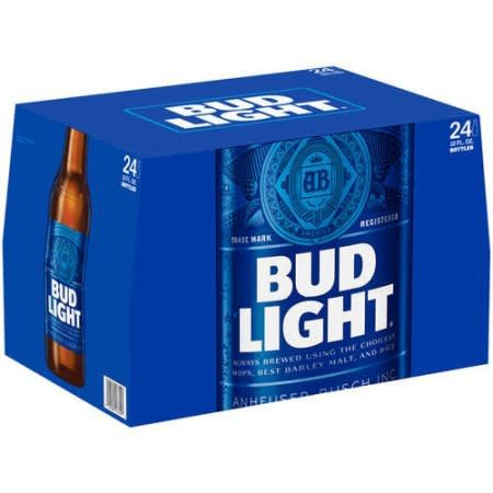 Bud Light Case Bottles 4/6pk - 12oz