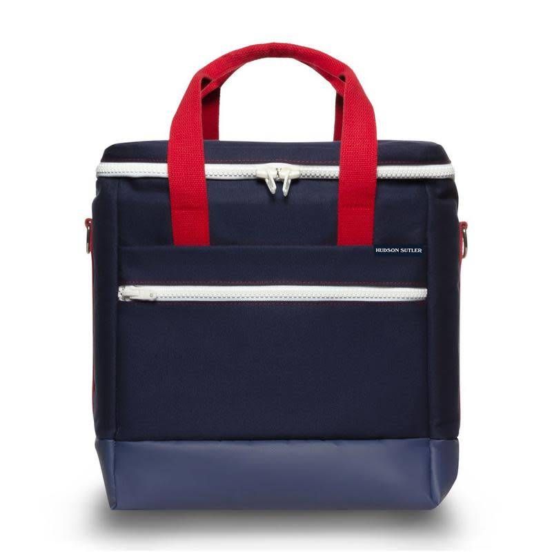 Hudson Sutler 30 Pack Cooler Bag - Yorktown Navy/Red