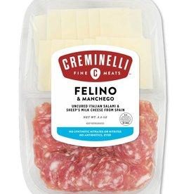 Creminelli Creminelli Felino + Manchego Snack Pack 2.2 oz