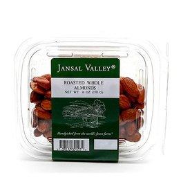 Jansal Valley Whole Roasted Almonds 6 oz