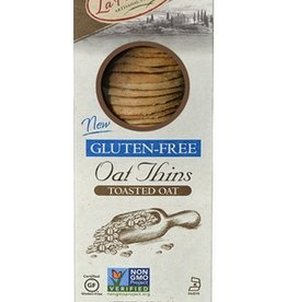 La Panzanella Gluten Free Toasted Oat Thins 5 oz