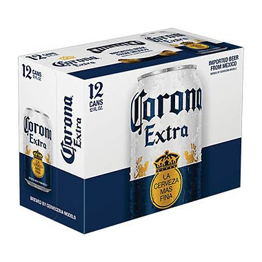 Corona Cans 12pk - 12oz