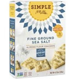 Simple Mills Gluten Free Almond Flour Sea Salt Crackers 4.25 oz