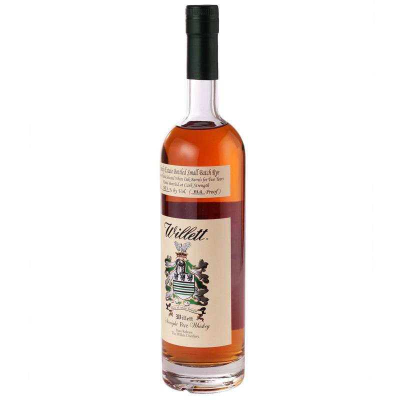 Willett Family Estate Rye Whiskey 4 yr