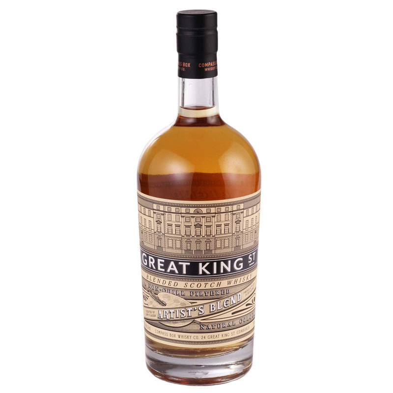"Compass Box Great King St. ""Artist's Blend"" Scotch Whisky"