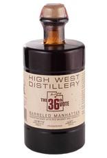 High West 36th Vote Barrel Aged Manhattan