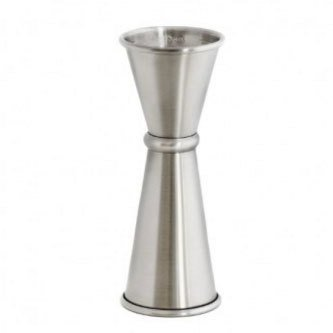 Japanese Style Jigger 1oz/2oz - Stainless Steel