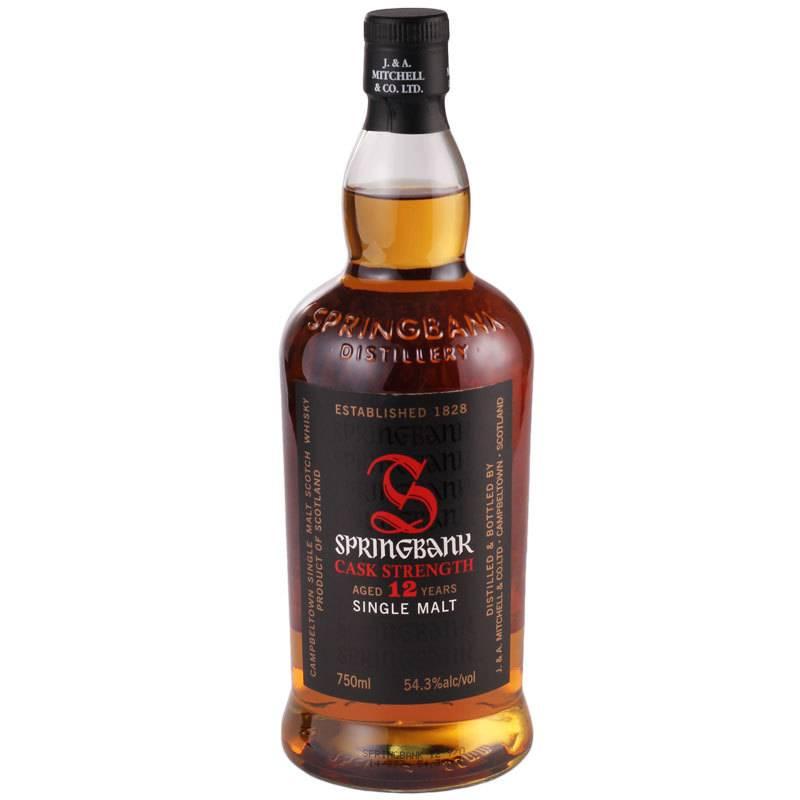 Springbank 12 yr Single Malt Whisky
