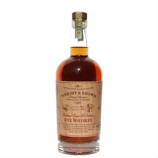 Wright & Brown Rye Whiskey