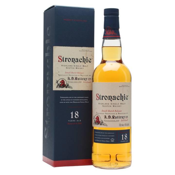 Stronachie 18 year Single Malt
