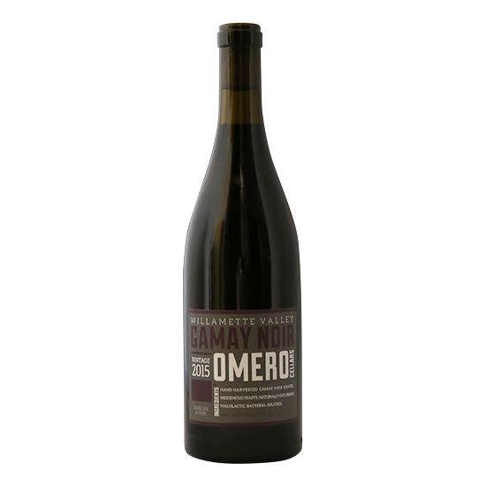 Omero Cellars 2015 Gamay Noir