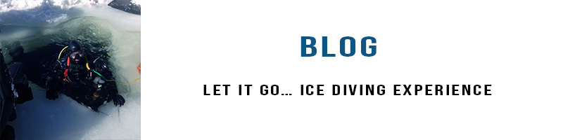 ice diving blog