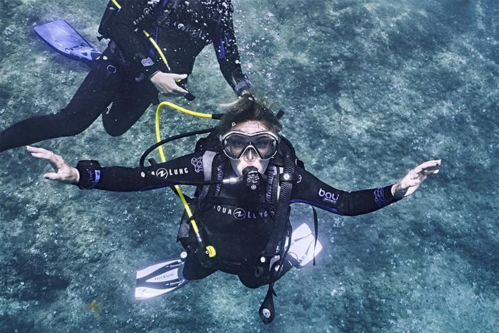 Discover Scuba Diver - Essais