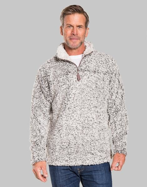 True Grit TG - Frosty Tipped 1/4 Zip Pullover