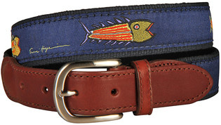Belted Cow BC - LTB Hopkins Fish Blue on Navy
