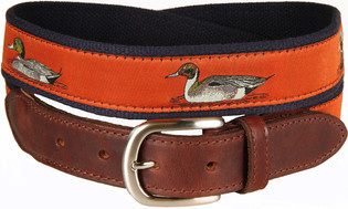 Belted Cow BC - LTB Waterfowl Sienna on Navy