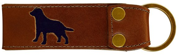 Belted Cow BC - Acadia Key Fob-Dog (Leather)