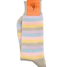 NK - Socks - Carlyle 5-Colour Strype