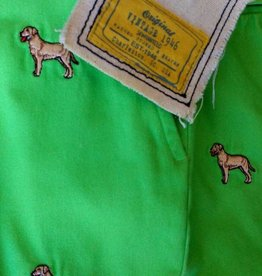 Berle-Kelly Green Shorts with Lab