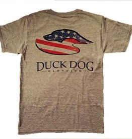 Duck Dog Clothing DD-S/S Silver American Pride