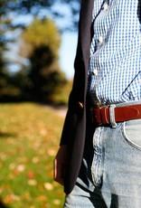 Belted Cow BC - Duck Emboss Latigo Leather Belt