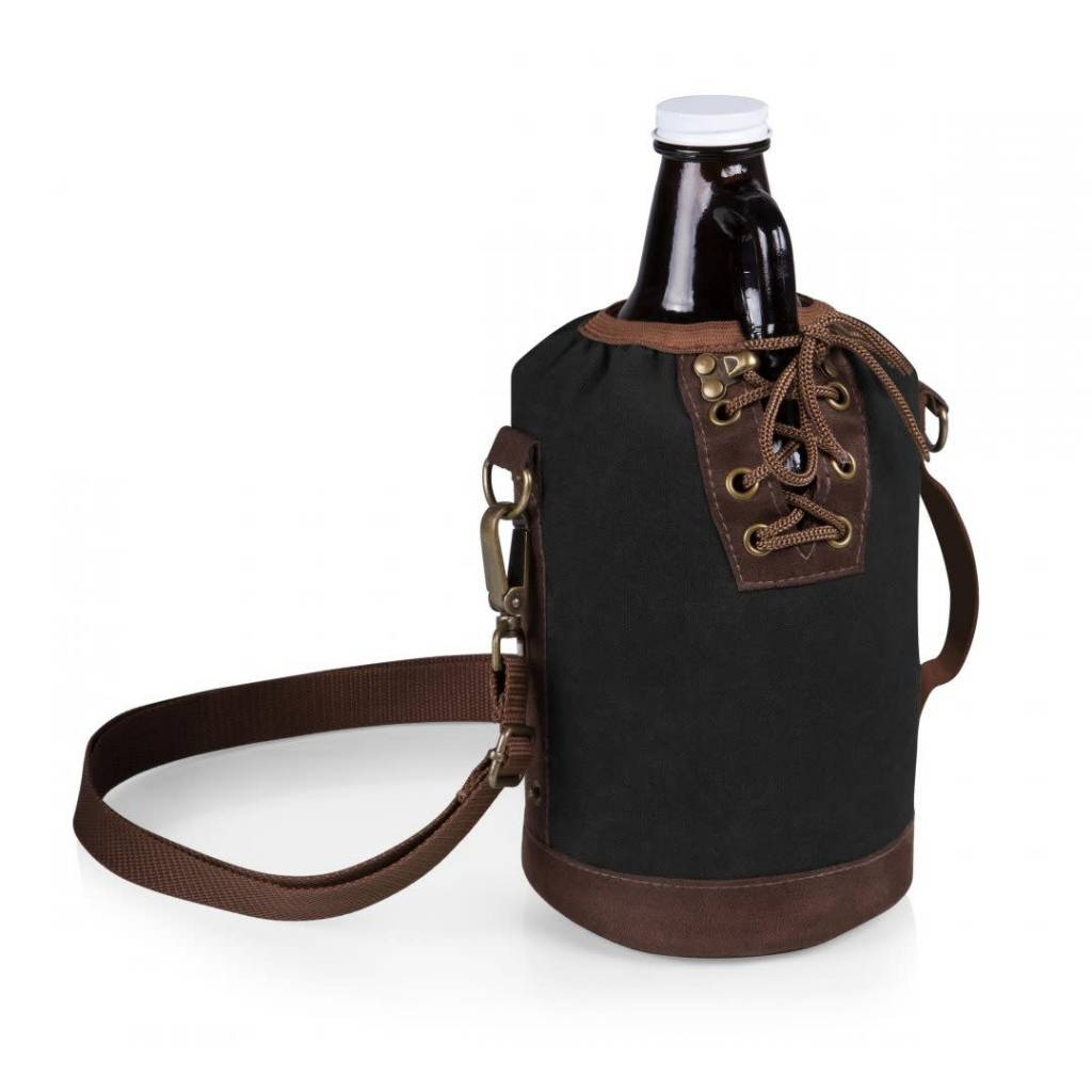 PICNIC-Glass Growler with Tote