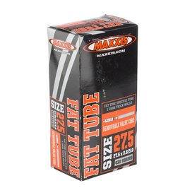 "Maxxis Fat Tube: 27.5 x 3.80 - 5.00"", Presta Valve, Removable Valve Core"