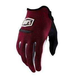 100% Ridecamp Men's Full Finger Glove